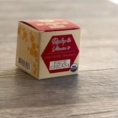 버블앤비, 유기농 페이스 크림, 2 oz