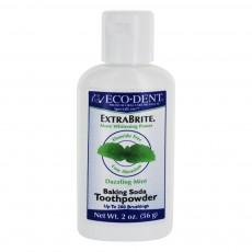 에코덴트, 치아미백 Extrabrite 가루 치약, 2 oz (56 g)